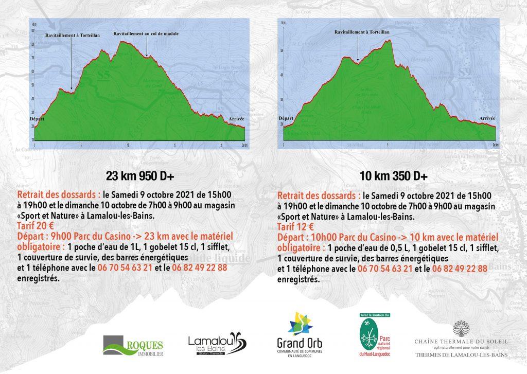 AFFICHE trail CASTAGNES 2021